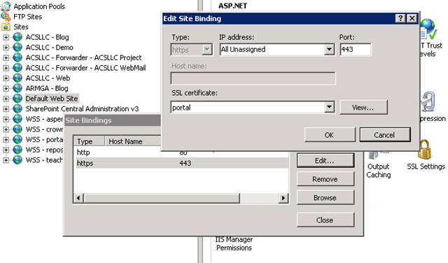 Using Host Headers and SSL in IIS 7 (without the ugliness of appcmd