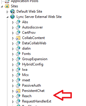 No connectivity with the Lync Web App reported every 20